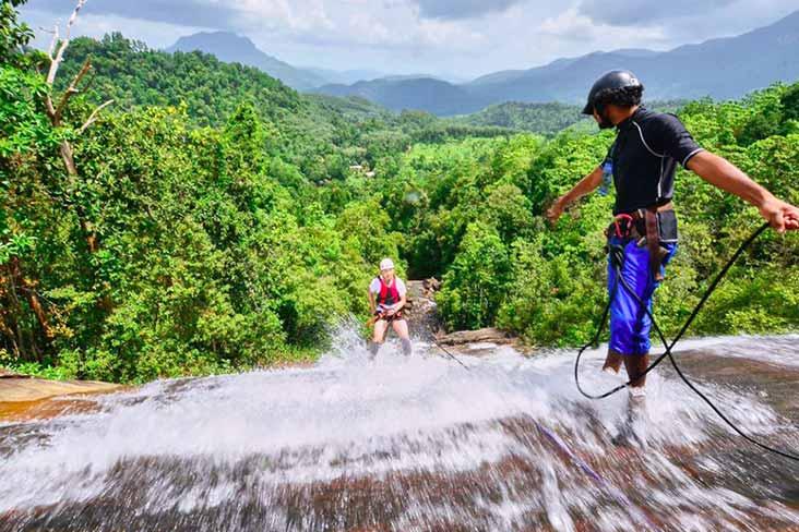 Waterfall Abseiling Sri Lanka