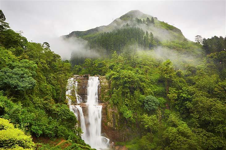 Ramboda Waterfalls