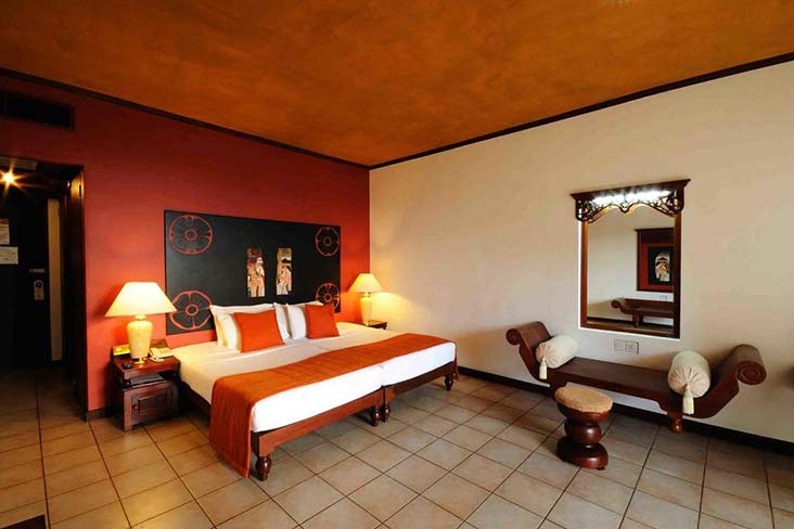 Rooms in Thilanka Hotel