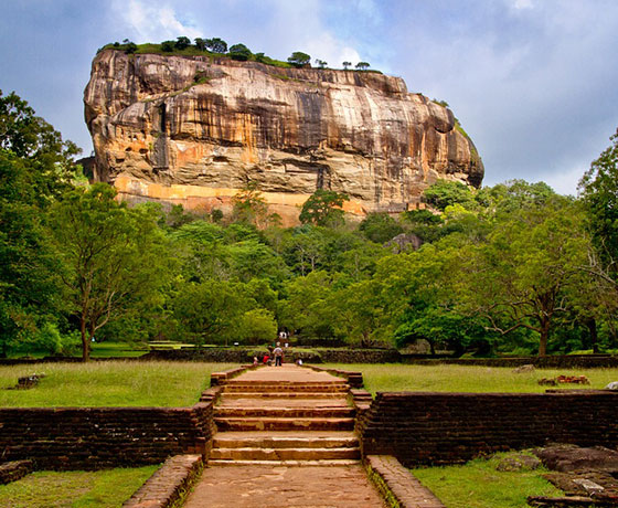 Sigiriya Rock Castle