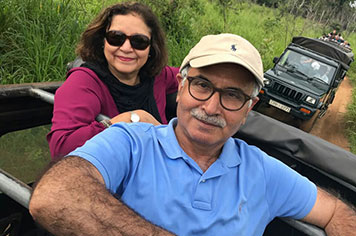 Jeep Safari Habarana Mr. Tariq Choudhry Family