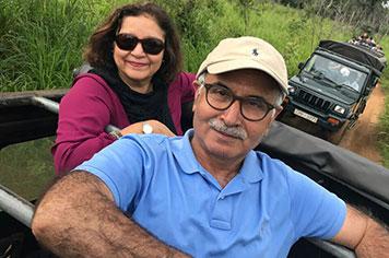 Jeep Safari Habarana Mr. Tariq Choudhry Family